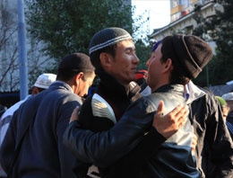 Moskova'daki müslümanların bayram coşkusu