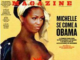 First Lady'yi üstsüz köle yaptılar!