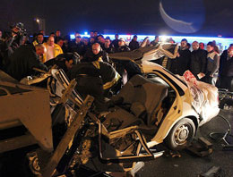 Başkentte trafik kazası
