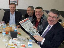 İki kırgın AK Parti'li yemekte buluştu