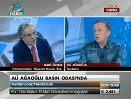 Ağaoğlu'ndan Erdoğan'a eleştiri