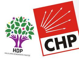 CHP ve HDP seçim ittifakı için buluştu