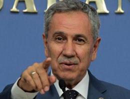 Arınç'tan 'Başbakan'a sorun' tepkisi