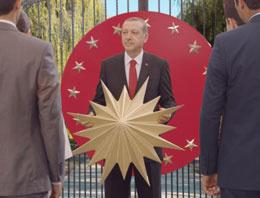 Cumhurbaşkanı Erdoğan'dan teşekkür reklamı