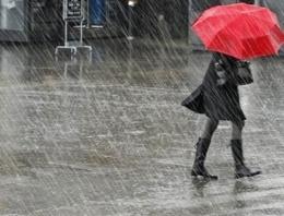 Meteoroloji'den 5 günlük yağış uyarısı