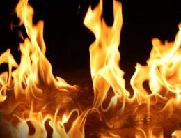 Karaman'da yangın felaketi