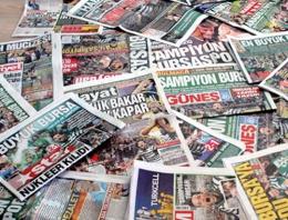 Gazete manşetleri 16 Nisan 2015
