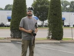 ABD polisi AA muhabirini ölümle tehdit edip dövdü