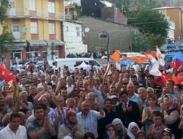 Konya'da Başbakan Davutoğlu sevinci