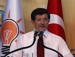 Davutoğlu'ndan sert yolsuzluk açıklaması