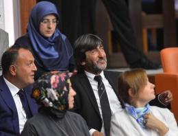 Erdoğan'ın yemin törenine o da katıldı
