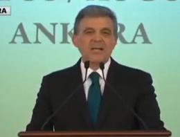 Abdullah Gül'den terör saldırıları için açıklama