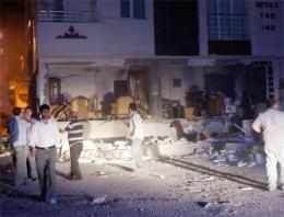 Erzurum'da doğalgaz kutusu bomba gibi patladı