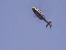 Bayrampaşa'da helikopter destekli operasyon