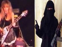 Rock müzik şarkıcısı kadın, IŞİD militanı oldu!