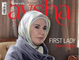Ünlü dergi Emine Erdoğan'ı kapak yaptı!