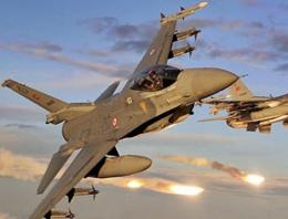 Türk savaş jetleri IŞİD için havalandı