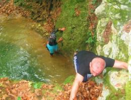 Bursa'nın gizli kanyonu ilk defa görüntülendi