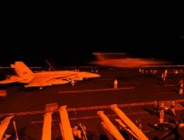 ABD IŞİD saldırısının fotoğraflarını yayınladı