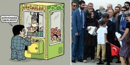 Davutoğlu'nun çocuk sevgisi Penguen'de
