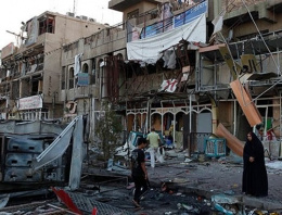 Bağdat'ta kanlı intihar saldırısı!