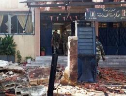 Humus'ta iki okul arasında patlama!