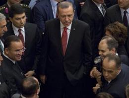 Erdoğan'lı resepsiyonda bir ilk!