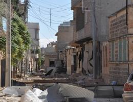 Kobani'de son durum! IŞİD şehri yıkmaya başladı