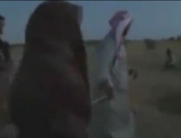 IŞİD kadını taşlattı recm videosu şoke etti