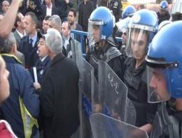 Validebağ Korusu eylemine polis müdahalesi!