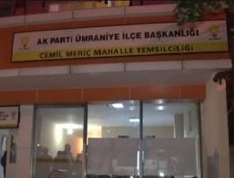 AK Parti temsilciliğine silahlı saldırı!