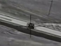 Kobani son durum ABD IŞİD aracını böyle vurdu