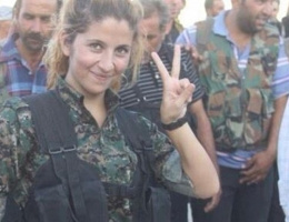 100 IŞİD'li öldüren kadın yakalanınca...