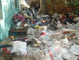 Çöp evde ölen kadın milyoner çıktı!