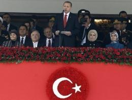 29 Ekim kutlamalarına Erdoğan damgası
