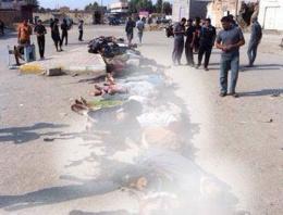 IŞİD 50 kişiyi birden kurşuna dizdi!