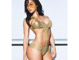 Kübalı Kardashian nefesleri kesti