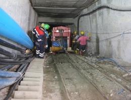 Ermenek'teki madende kaçak elektrik