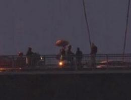 Boğaziçi Köprüsü'nde intihar trafiği