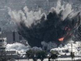 Kobani son durum IŞİD'e hava bombardımanı