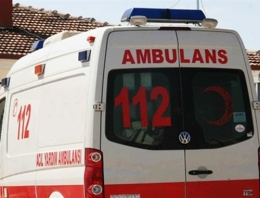 Ambulansta 'lahmacun' sosyal medyayı salladı