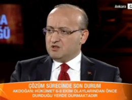 Akdoğan'dan Öcalan'a Kobani suçlaması
