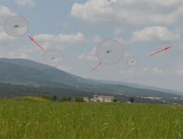 Gel de inanma! En net UFO görüntüsü olay