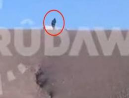 IŞİD'in peşmergeye korkunç tuzağı görüntülendi