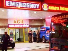 Askeri araç kaza yaptı! Çok sayıda yaralı var!