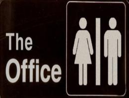 Ofis tuvaletinde neler oluyor neler...
