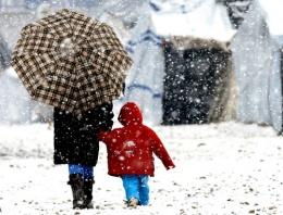 Kar Balkanlar'dan yurda giriş yaptı!