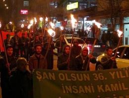 Tunceli'de Bahçeli protestosu  FLAŞ