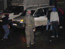PKK'dan hendek kapatan polise saldırı