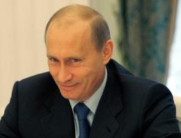 Putin: Seviyorum seviliyorum!